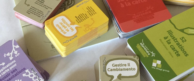 carte per gioco d'aula
